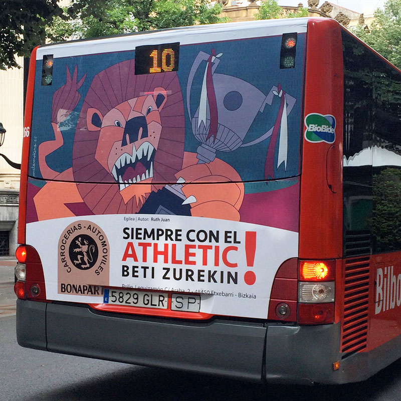 Bilbobus para la final de la copa del Athletic