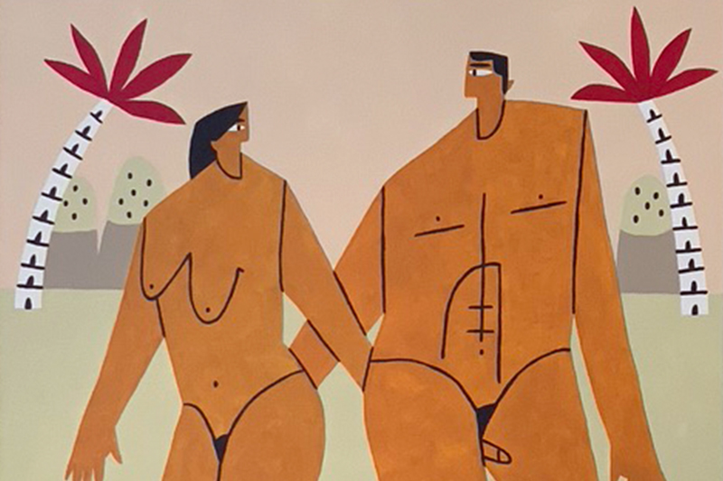 Adán y Eva se separan